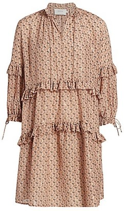 MUNTHE Maggie Floral Shift Dress