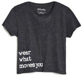 Girl's Maddie Wear What Moves You Crop Tee