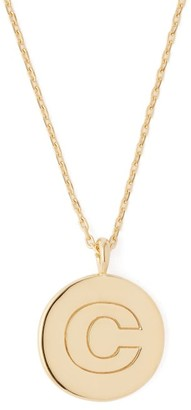 Theodora Warre - C-charm Gold-plated Necklace - Womens - Gold