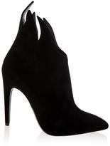 Bottega Veneta Suede Ankle High Heel Boots