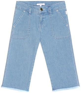 Chloé Kids Cropped straight jeans