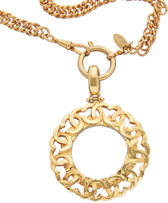Chanel Gold-Tone Monocle