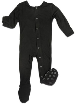 Earth Baby Outfitters Baby Boys and Girls Organic Bamboo Footie
