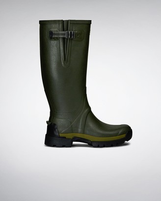 Hunter Men's Balmoral Bamboo Carbon Rain Boots