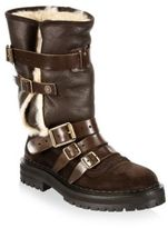 Burberry Fitzgerald Shearling Weather Boot