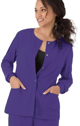 Jockey Women's Scrubs Classic Long Sleeve Jacket 2356