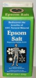 White Mountain Epsom Salt Containers, 3 lb, 2 Pack