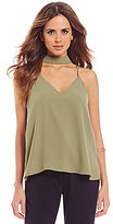 Gianni Bini Tibby V-Bar Neck Tank