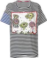 Tsumori Chisato boxy striped T-shirt