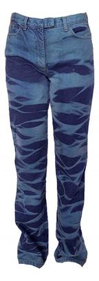Fendi Blue Denim - Jeans Trousers
