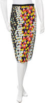 Peter Pilotto Printed Pencil Skirt w/ Tags