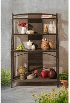 Sunjoy Sophie Brown and Gray Baker's Rack