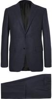 Ermenegildo Zegna Blue Slim-fit Milano Wool And Cashmere-blend Suit - Blue