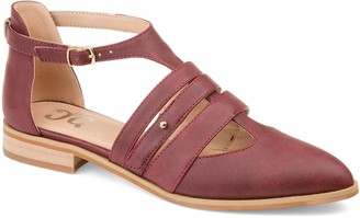 Journee Collection Jemy Women's Strappy Flat