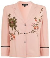 Topshop Embroidred kimono pj shirt