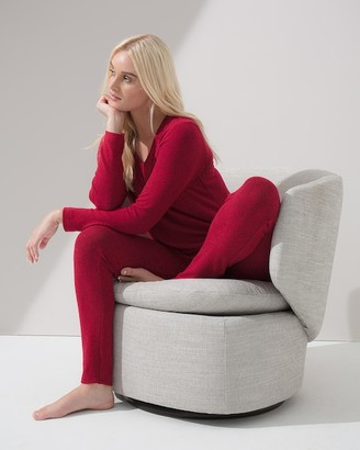 Soma Intimates Brushed Cozy Long Sleeve PJ Set