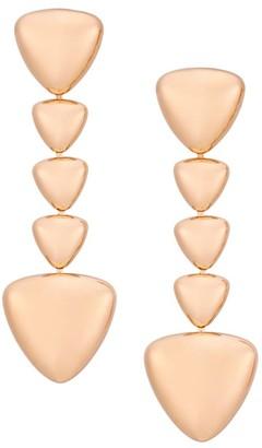 Vhernier Freccia 18K Rose Gold Linear Drop Earrings