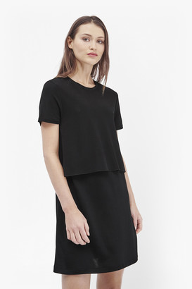 French Connection Wonder Jersey Draped Dress