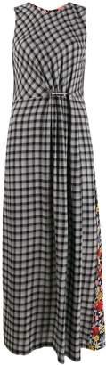 McQ contrast print dress