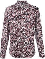 Marni abstract print shirt - men - Cotton - 48