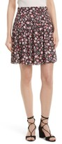 Kate Spade Women's Mini Casa Flora Pleated Skirt