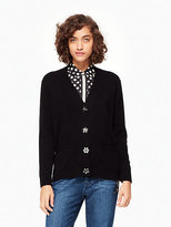 Kate Spade Embellished button cardigan