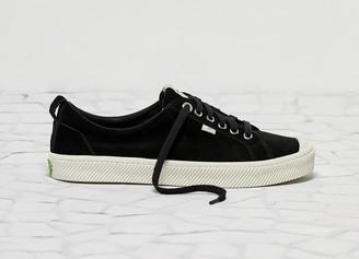 Cariuma OCA Low Black Suede Sneaker Women