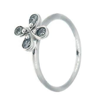 Pandora Women Silver Eternity Ring 197967CZ-58