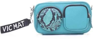 Vic Matié Kaila Emerald Leather Mini Bag