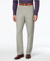 Alfani Men's Gray Flat-Front Pants, Classic Fit
