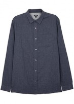 Vince Navy Cotton Shirt