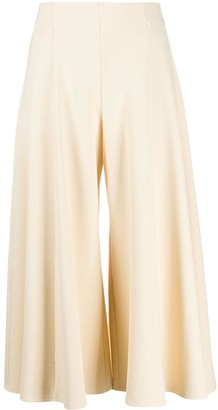 The Row Cropped Flared Trousers