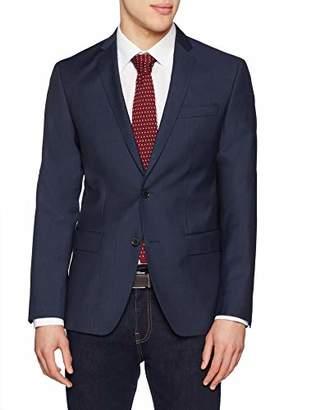 S'Oliver BLACK LABEL Men's 02.899.54.4431 Suit Jacket, (Grey/Black Dots 98m4), (Size: 98)