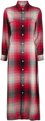 Polo Ralph Lauren Tie-Waist Plaid Shirt Dress