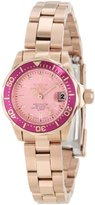 Invicta Women's 12529 Pro-Diver Pink Dial Watch