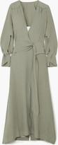 Thumbnail for your product : Roland Mouret Springbrooke Cutout Silk-jacquard Maxi Dress