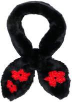 Simone Rocha floral scarf