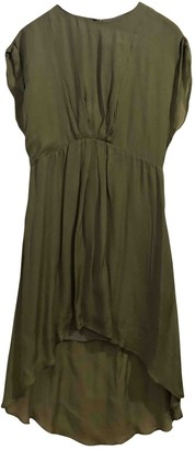 Kaviar Gauche Green Viscose Dresses