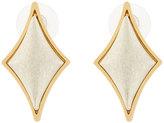Stephanie Kantis Diamond-Motif Cabochon Stud Earrings
