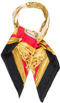 Hermes Etriers Silk Scarf