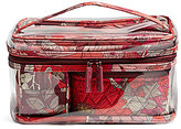 Vera Bradley Clear Travel Cosmetic Set