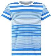 Edwin Print Tshirt Royal Blue