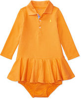 Ralph Lauren Girl Cotton Polo Dress & Bloomer
