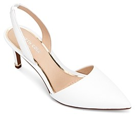 Kenneth Cole Women's Riley Leather Slingback Pumps