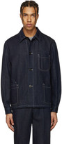 Paul Smith Navy Denim Worker Jacket