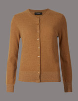 Marks and Spencer Cashmere Rich Round Neck Cardigan