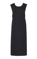 Rochas Bow-Embellished Midi Dress