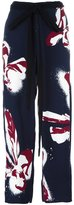 Cédric Charlier floral print wide trousers - women - Rayon - 40