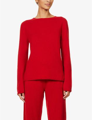 Johnstons Harriet round-neck wool jumper