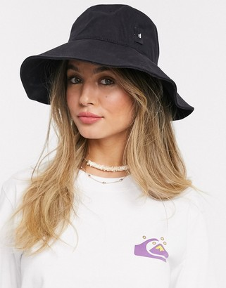 Quiksilver Jersey bucket hat in black